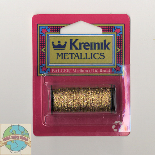 Kreinik Metallics - Medium #16 Antique Gold 221