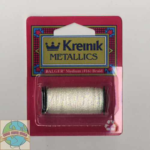 Kreinik Metallics - Medium #16 Pearl 032