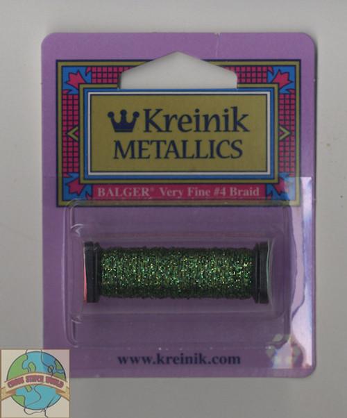 Kreinik Metallics - Very Fine #4 Forest Green 5982