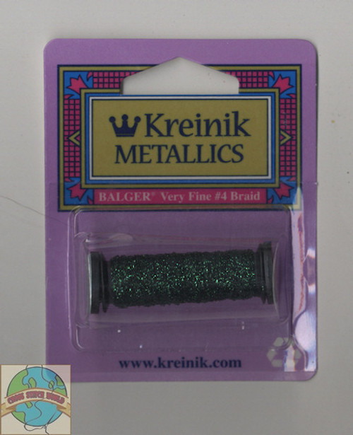 Kreinik Metallics - Very Fine #4 Emerald 009