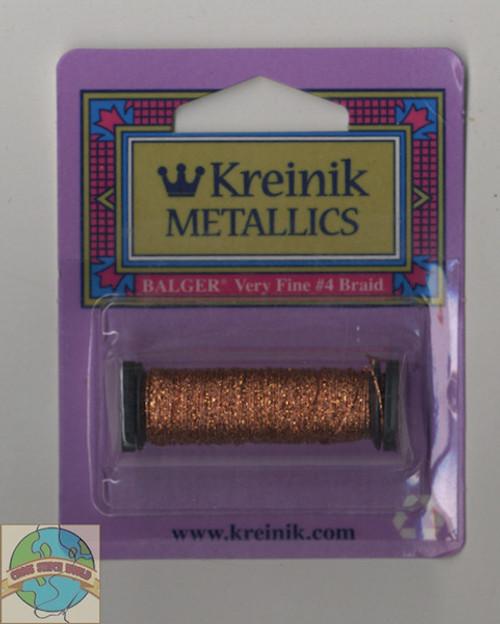 Kreinik Metallics Very Fine #4 Orange 027