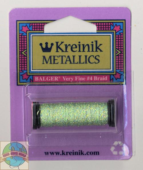 Kreinik Metallics - Very Fine #4 Star Green 9194