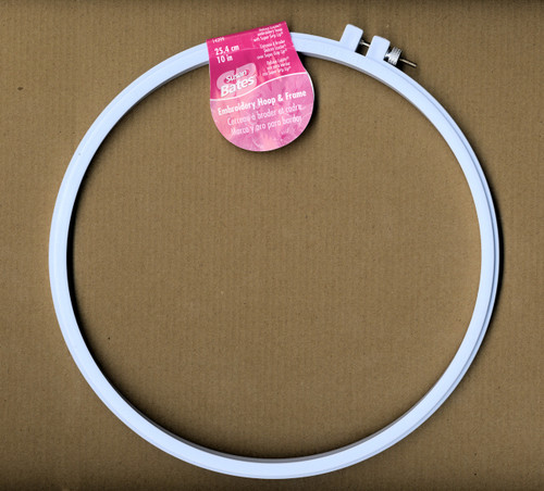 Susan Bates - 10 in Deluxe Luxite Embroidery Hoop