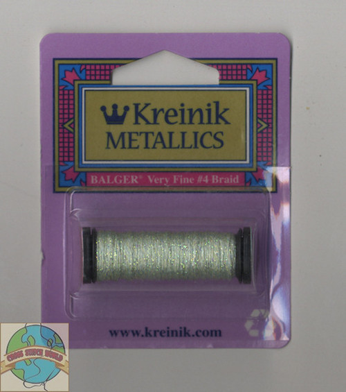 Kreinik Metallics - Very Fine #4 Pale Green 198