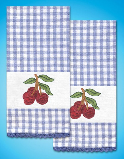 Design Works - Cherry Towels (2)