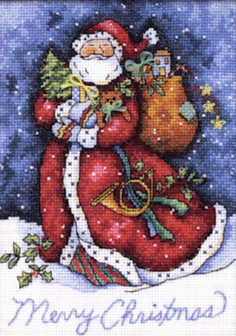 Gold Collection Petites - Merry Christmas Santa