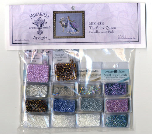 Mirabilia Embellishment Pack - The Snow Queen