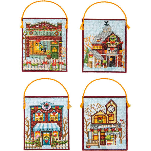Dimensions - Winter Village Ornaments