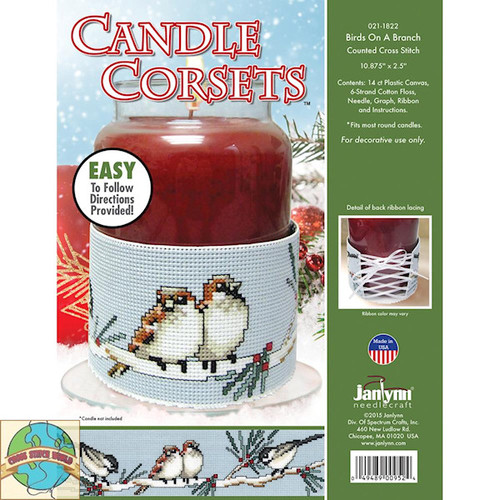 Janlynn - Birds On A Branch Candle Corset