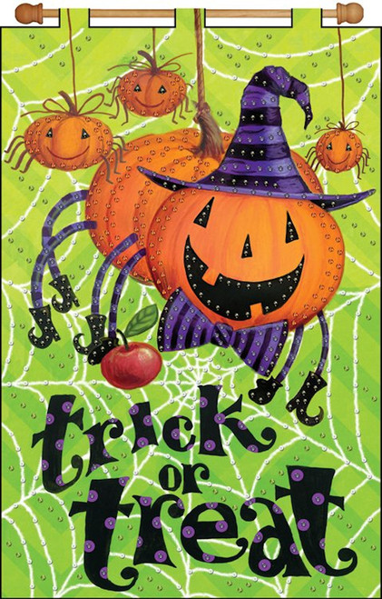 Design Works - Trick or Treat Jeweled Banner