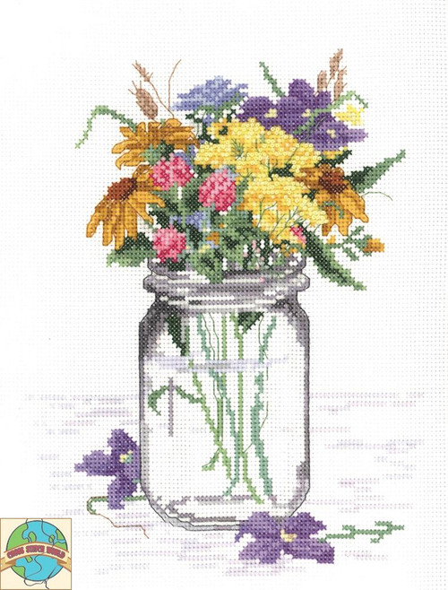 Janlynn - Wildflower Jar