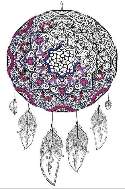 Design Works Zenbroidery Dreamcatcher 40 X 40 CrossStitchWorld Cool Dream Catcher Works