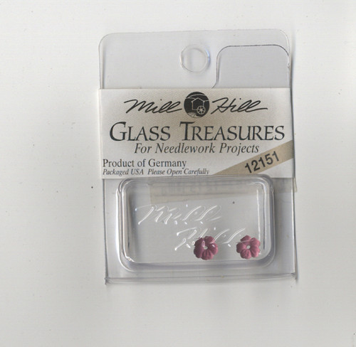 Mill Hill Glass Treasures - Very Petite Flower