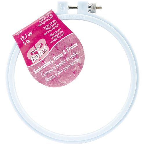 Susan Bates - 5 in Deluxe Luxite Embroidery Hoop
