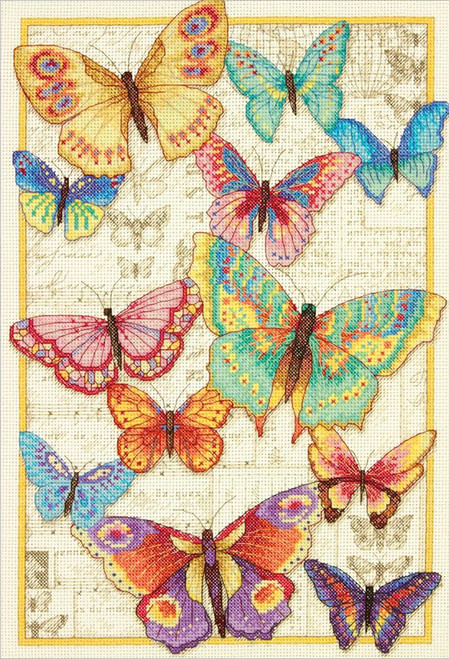 Gold Collection - Butterfly Beauty