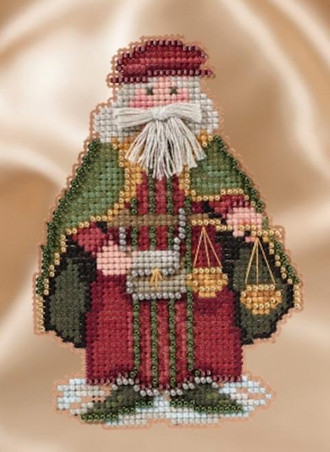 Mill Hill Renaissance Santas - Venice Santa