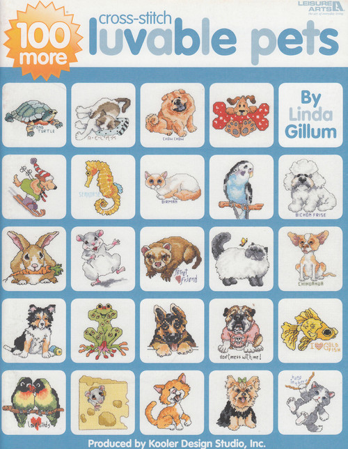Leisure Arts - 100 More Luvable Pets