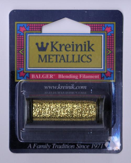 Kreinik Metallics Blending Filament - Gold 002HL (Hi Lustre)