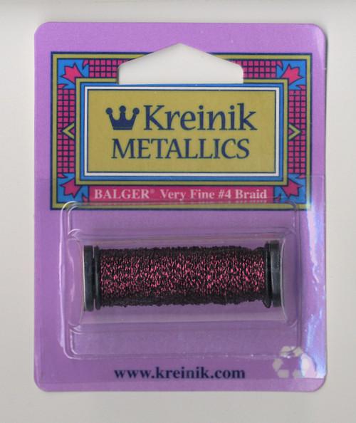 Kreinik Metallics - Very Fine #4 Vintage Burgundy 153V