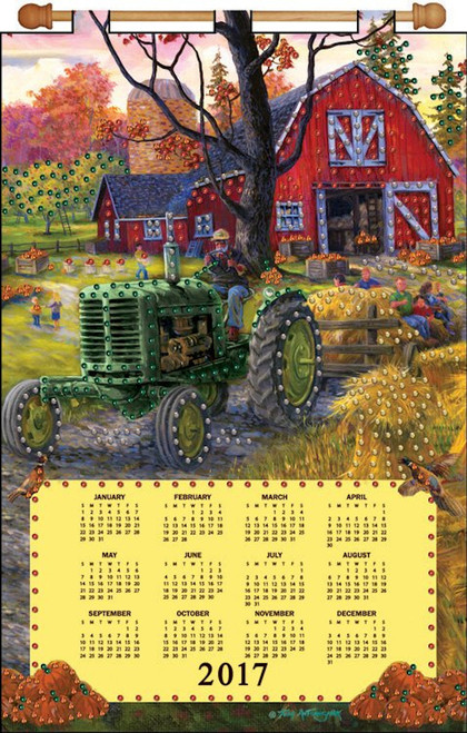 Design Works - Tractor 2017 Calendar