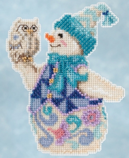 Mill Hill / Jim Shore - Snowy Owl Snowman