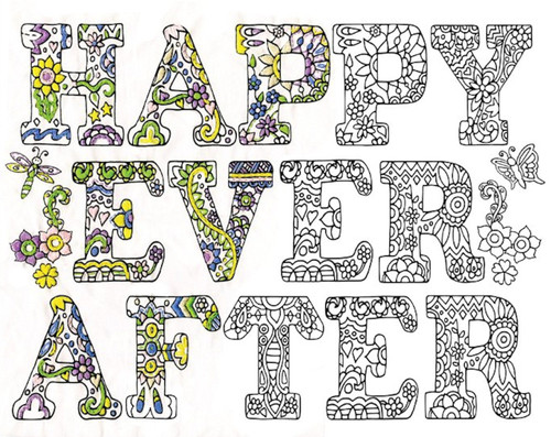 "Design Works - Zenbroidery Happy Ever After 14"" x 18"""