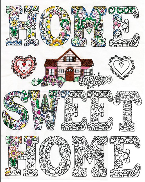 Design Works - Home Sweet Home (Zenbroidery)