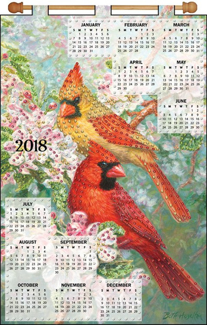 Design Works - Cardinals 2018 Calendar