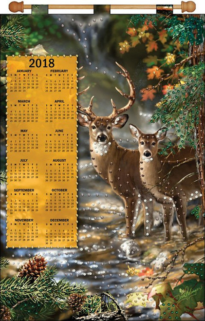 Design Works - Deer 2018 Calendar