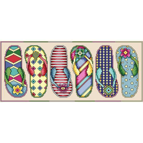 Vickery Collection - Flip Flop Fun