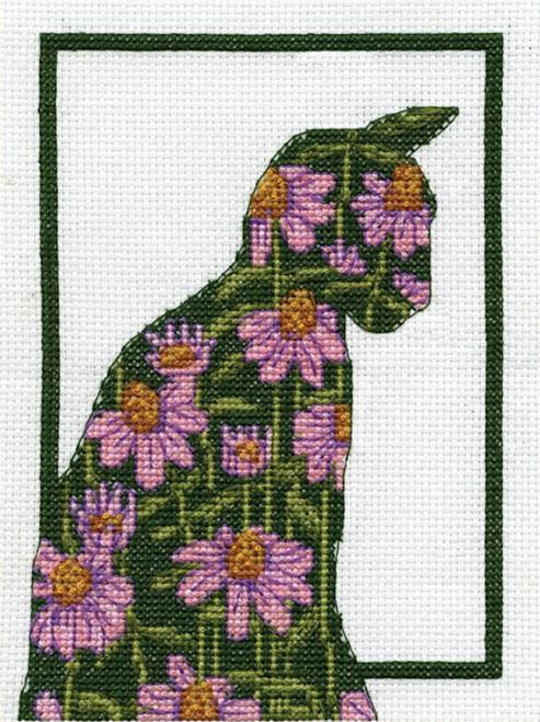 Design Works - Floral Cat