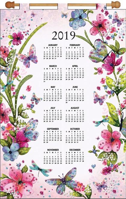 Design Works - Butterflies 2019 Calendar