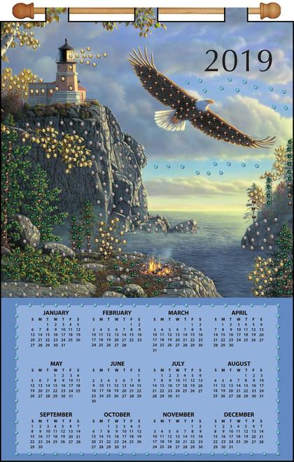 Design Works - Guiding Light 2019 Calendar