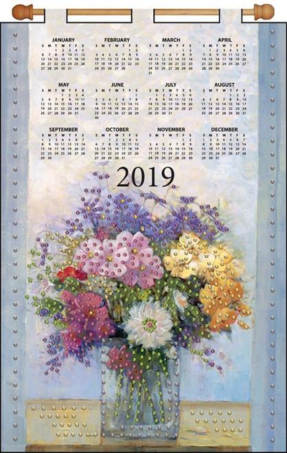 Design Works - Pastel Floral 2019 Calendar