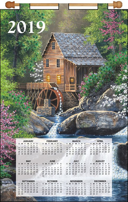 Design Works - Watermill 2019 Calendar