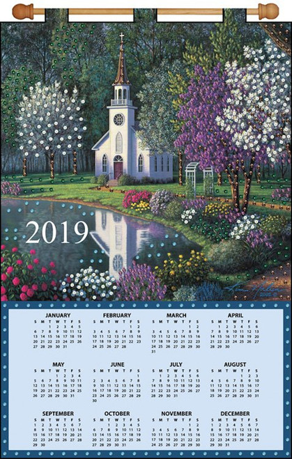 Design Works - Church 2019 Calendar