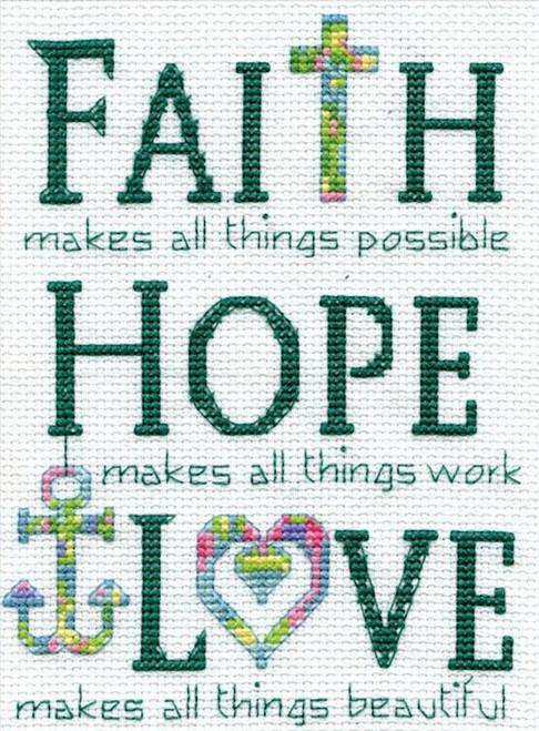Design Works - Faith, Hope, Love