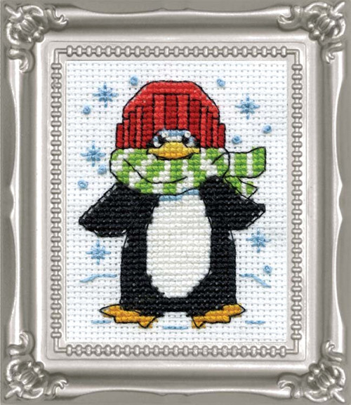 Design Works -  Penguin Picture Kit w/Frame