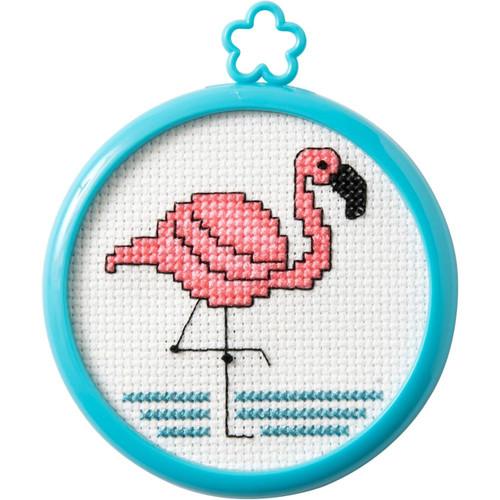 My 1st Stitch - Tropical Flamingo
