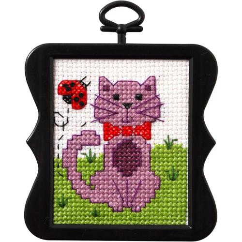 Plaid / Bucilla -  Kitty