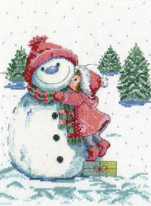 Design Works - Red Hat Snowman