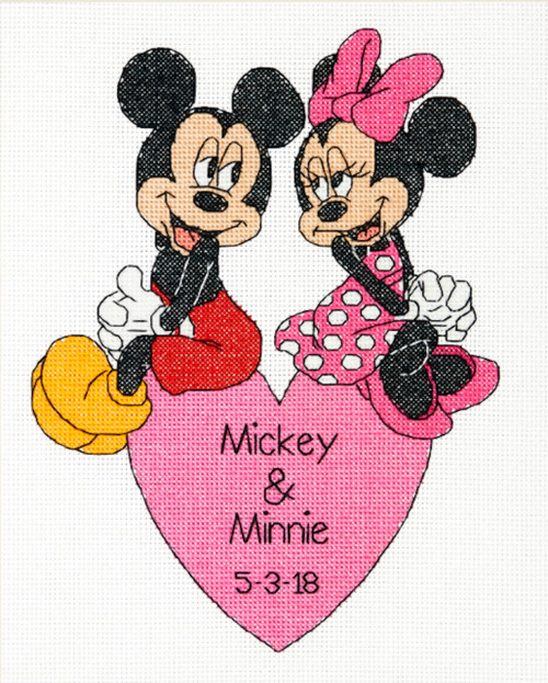 Dimensions - Mickey & Minnie Wedding Record