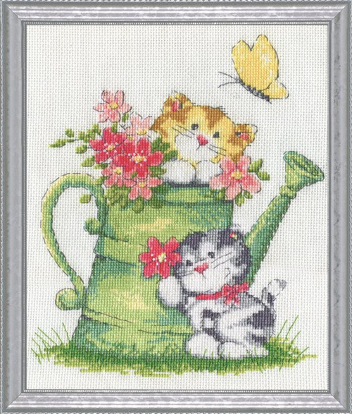 Design Works - Watering Can Cats