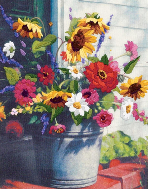 Dimensions -  Bucket of Flowers