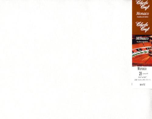Charles Craft - 28 Ct White Evenweave 15 x 18 in