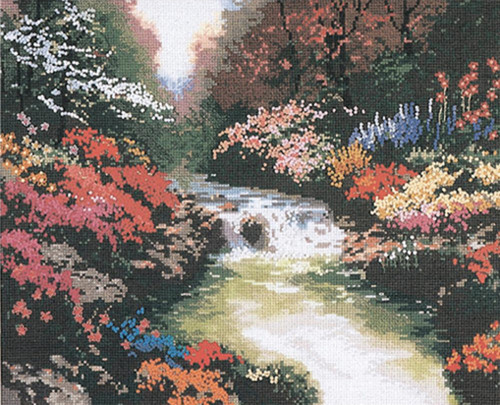 Candamar / Thomas Kinkade - Beside Still Waters