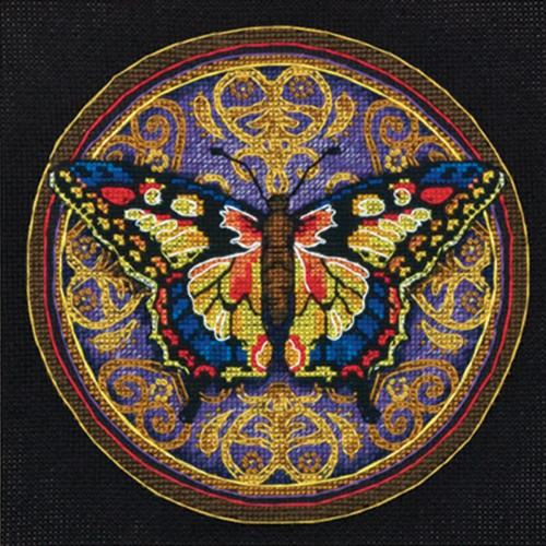 Dimensions Gold Collection Ornate Butterfly