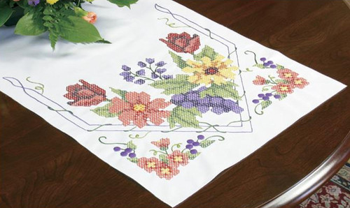 Dimensions - Flowers and Berries Table Runner