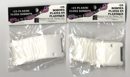 Janlynn - 50 Plastic Floss Bobbins