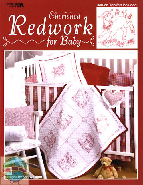 Leisure Arts - Cherished Redwork for Baby
